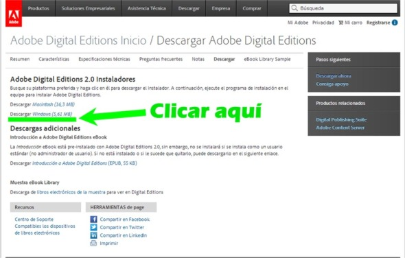 AdobeDigitalEditionsDescargar