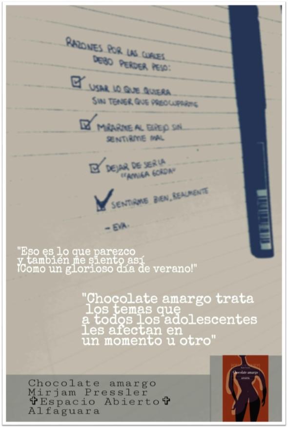 Chocolate amargo Cartel Maria Gomez 3A